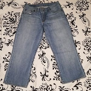 Lucky brand classic cropped capri Jeans size 27